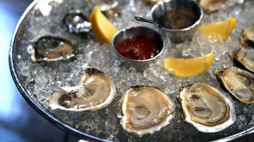 These are the most popular places to eat oysters in Boston, according to check-in data
