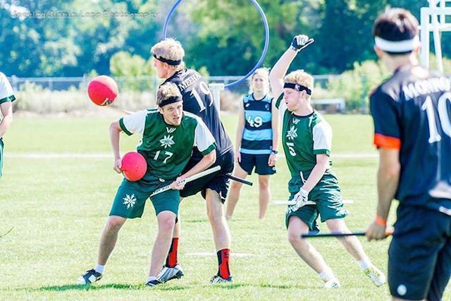 Yes there's a national quidditch league and yes they're playing tomorrow in SF.