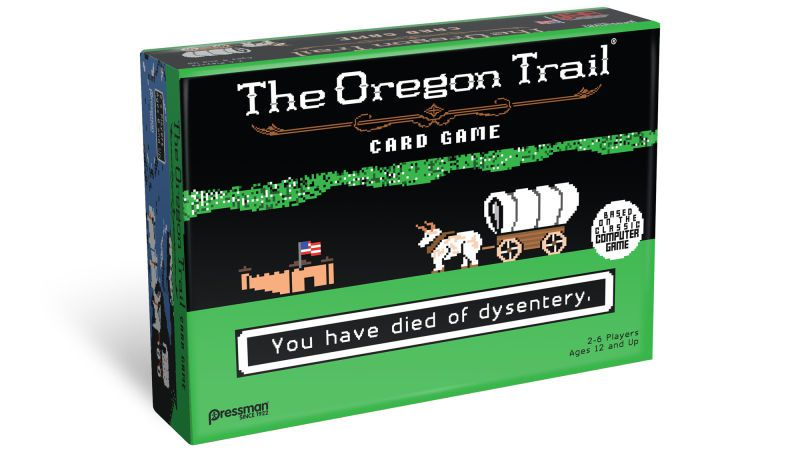 'The Oregon Trail' returns July 31 – as a tabletop card game
