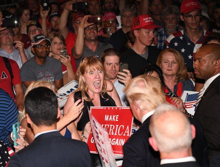 Donald Trump campaigns in Colorado Springs, Denver copolitics