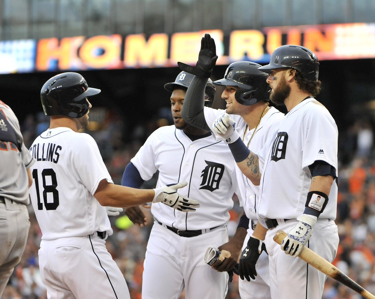 Final score: Tigers 14, Astros 6