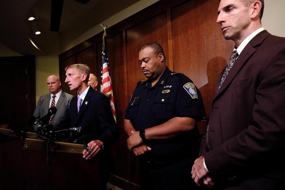 """It breaks everyone's heart,"" Boston Police Commissioner William B. Evans said."