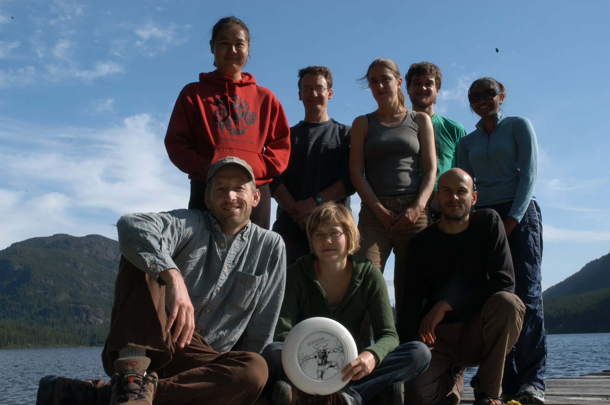 In appreciation of my goofy colleagues: 1st @DanielBolnick vs @EcoEvoEvoEco lab ultimate field tournament 2006. https://t.co/a3CpPG0Top