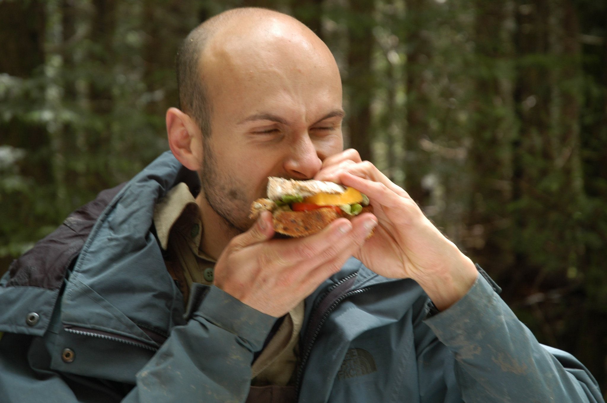 In appreciation of my goofy colleagues 22: How to eat a sandwich by Daniel Berner. https://t.co/HQj8IeX12J