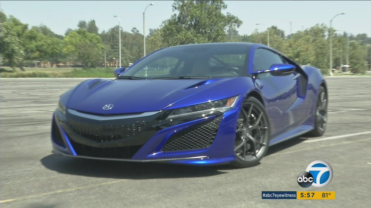Acura revamps its iconic NSX supercar at Torrance design studio