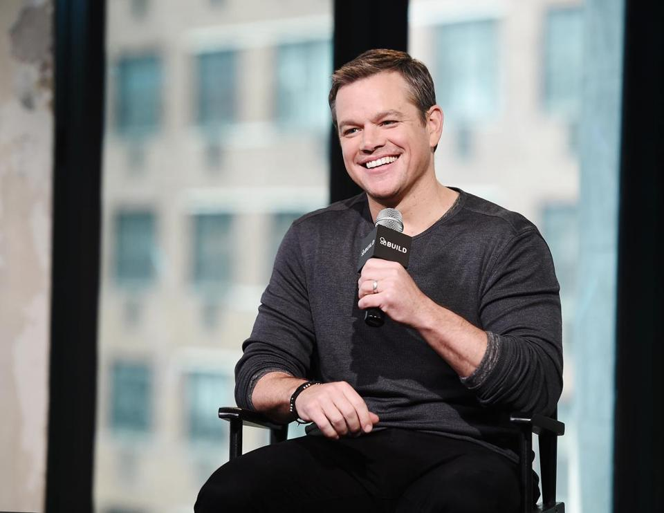If you hadn't noticed, there's a lot happening for Matt Damon right now.