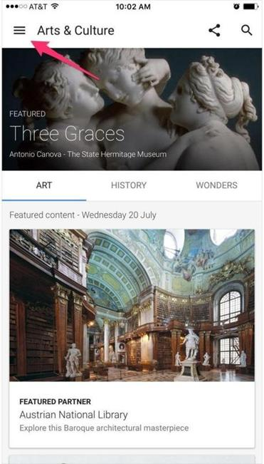 Google's updated Arts & Culture app is both a resource and a portal