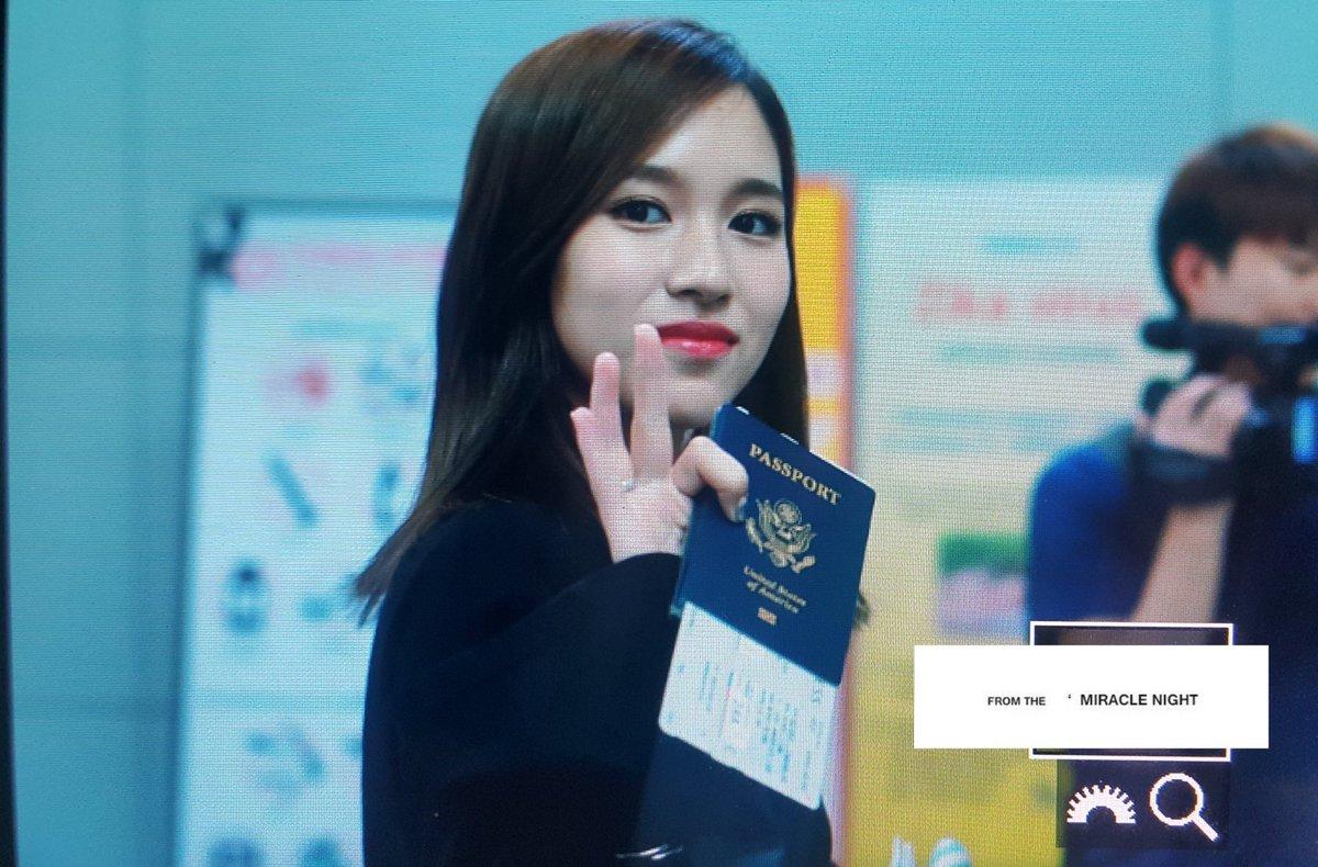"""Kmbrlyn on Twitter: """"Mina's US passport.. https://t.co/oFSEMeW2AD"""""""