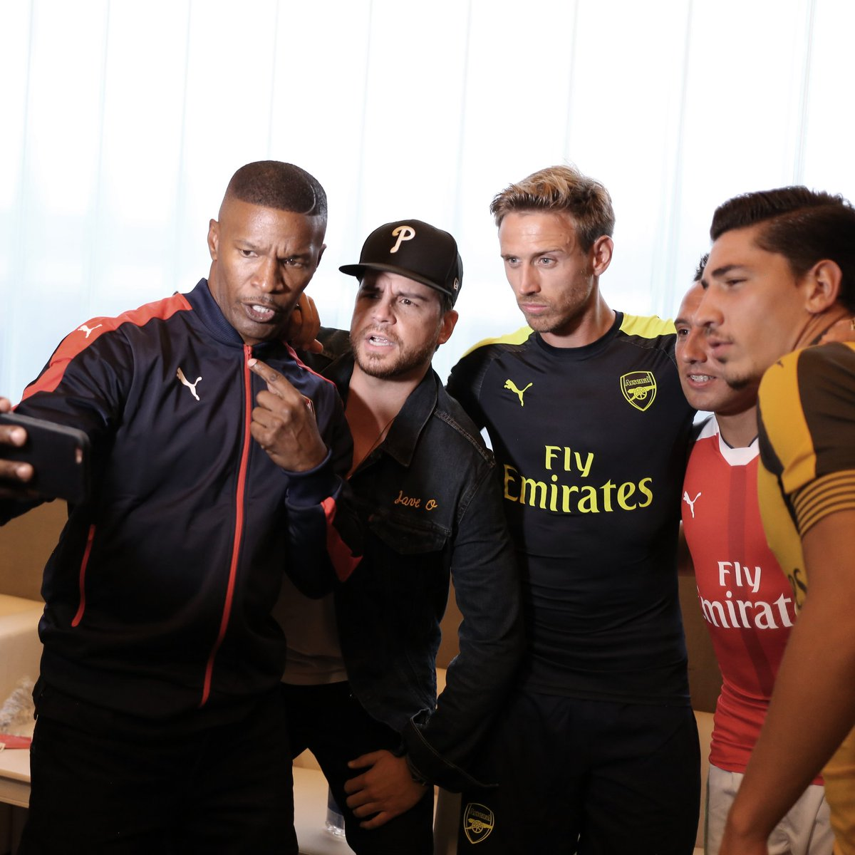Great time tonight with @PUMAFootball @Arsenal Bring on the new season #ForeverArsenal https://t.co/QUt4exaBc5