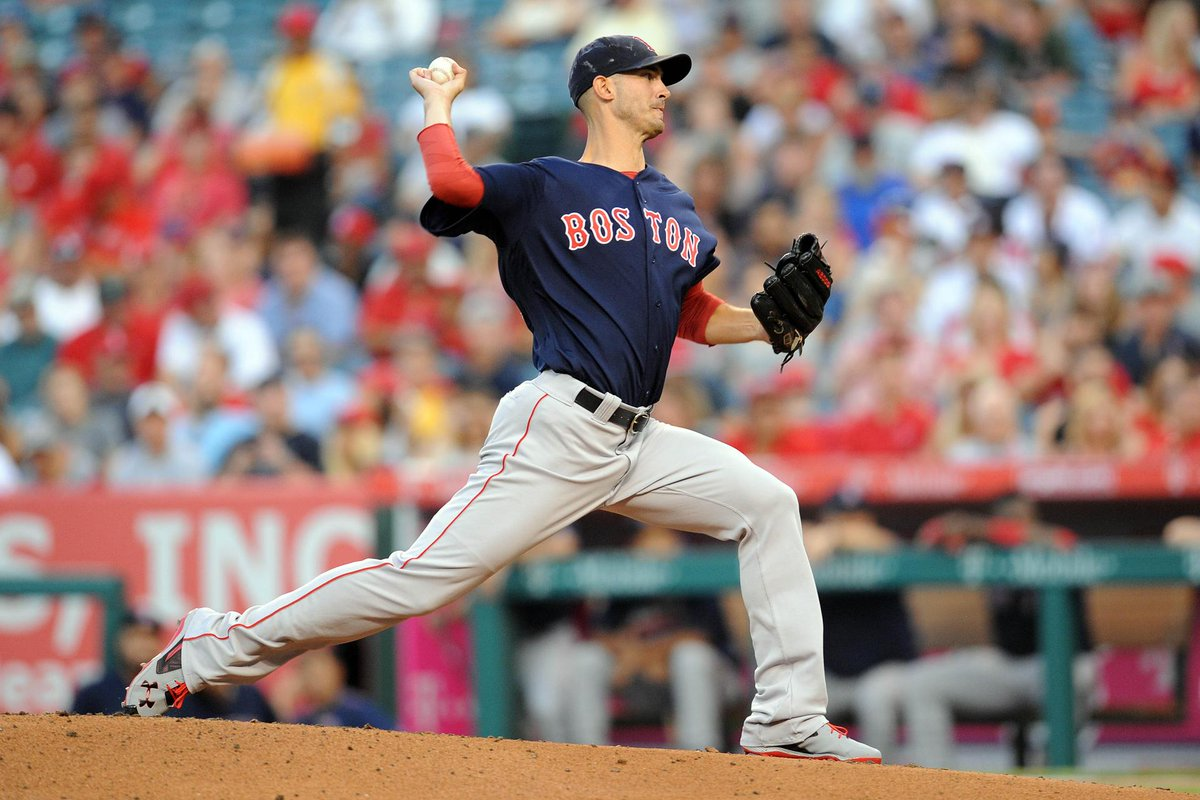 Red Sox pitcher Rick Porcello goes the distance in 6-2 win over Angels
