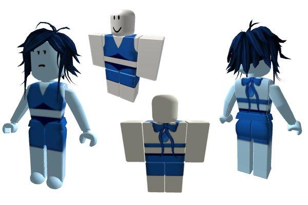 Blue dress roblox 8 29 16