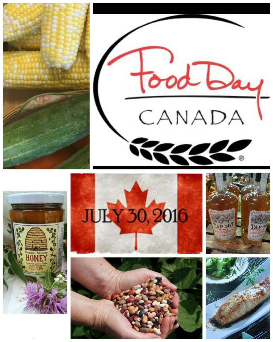 Let the celebrations begin! Share your photos using hashtags #FoodDayCanada #CanadaISfood. https://t.co/D8LkxEmD1z