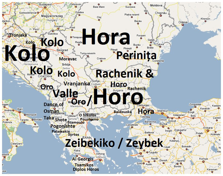 Balkan Facts on Twitter Heres the map of Balkans folk dances If