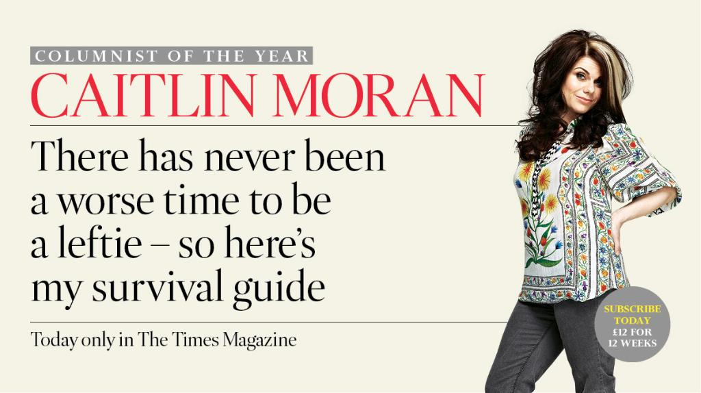 RT @thetimes: .@caitlinmoran: how to help the despairing lefties in your life https://t.co/FaDr3diwqQ https://t.co/7ci0f01XTN