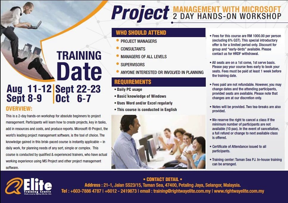 Rightway Elite On Twitter Project Management Training Please Call