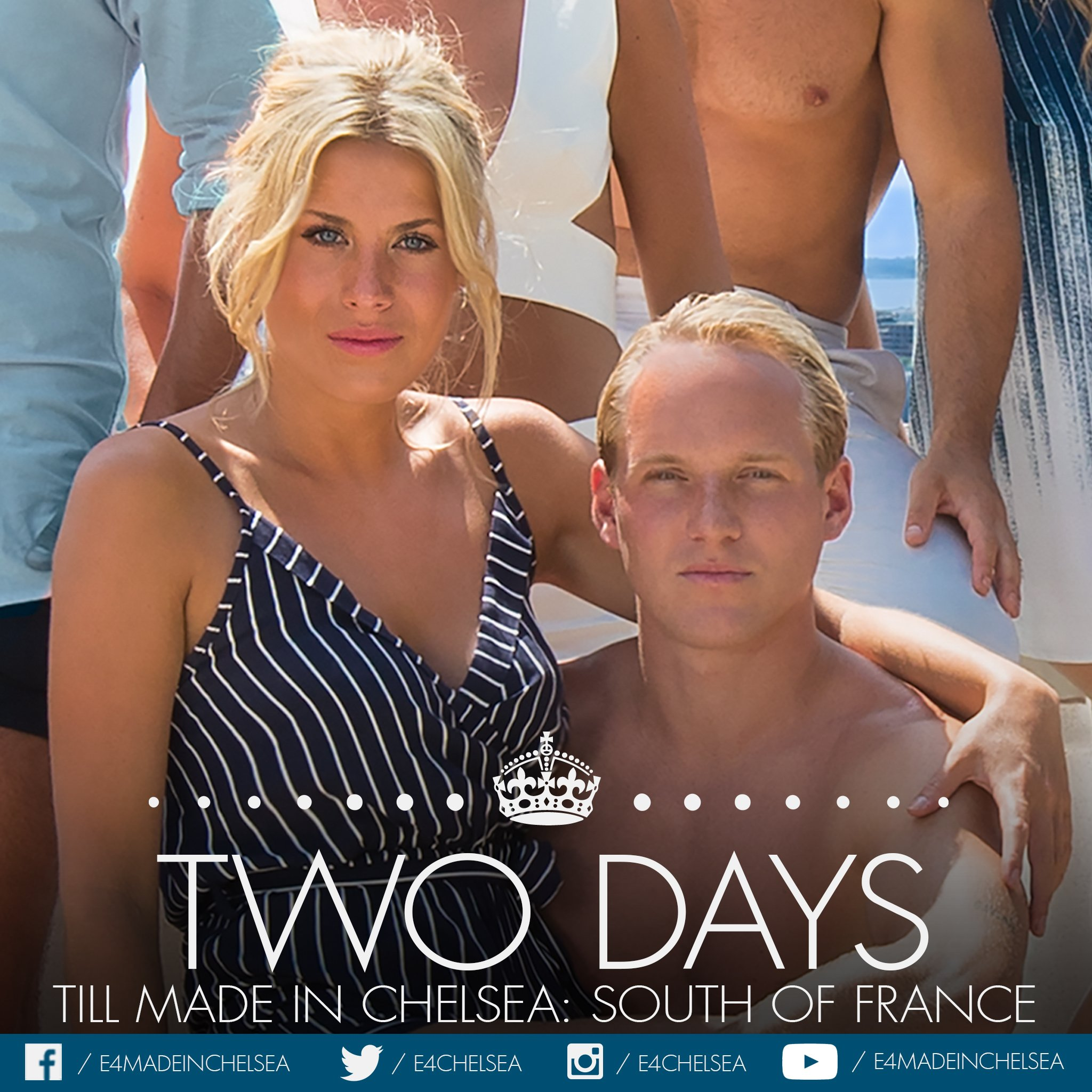 Only two more sleeps till we all wake up in the French Riviera! 😍 #MiCSOF #MadeInChelsea https://t.co/KzlzeknKA6