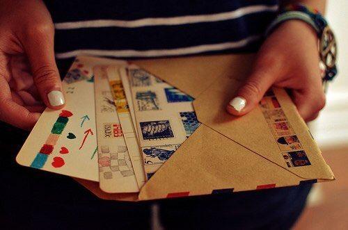 Игру что, получать письма и открытки