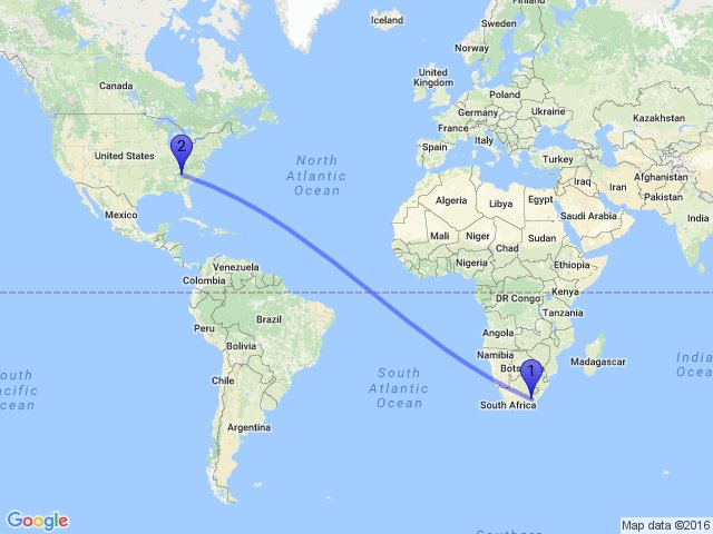 Random Distance On Twitter The Between Egcibhala South Africa And Sky Valley Ga 30537 Usa Is 13680km Maps Gis Earth