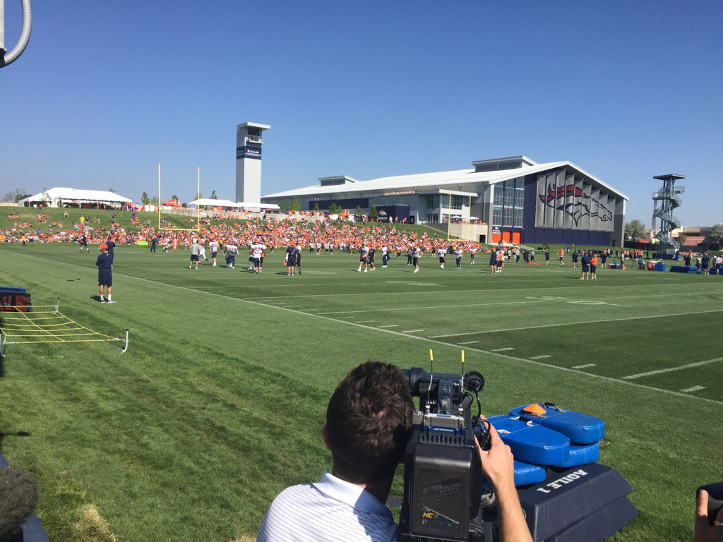 Day 3 of Training Camp. BroncosCountry where are you?