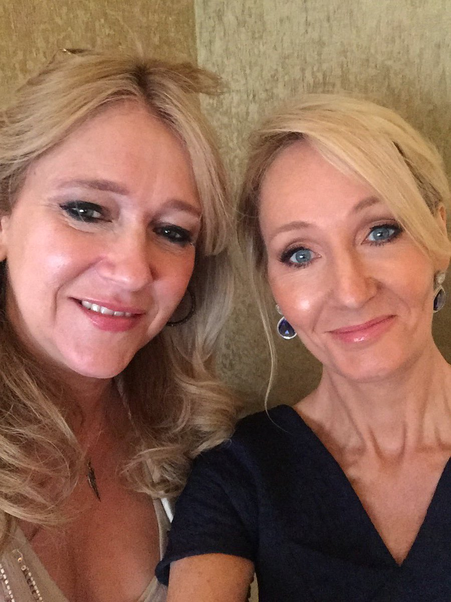 Image result for image of sonia friedman and j.k. rowling