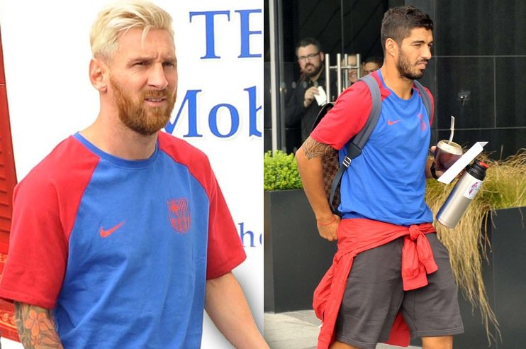 Lionel Messi and HANDBALL LECTER arrive in Dublin ahead of Barcau0027s friendly against Celtic   sc 1 st  Scoopnest.com & Lionel messi and handball lecter arrive in dublin ahead of barcau0027s ...