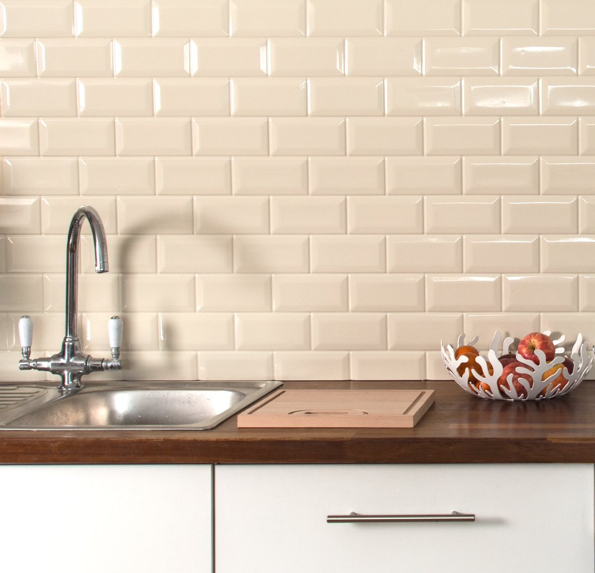 Recosurfaces On Twitter Reduce Landfill Use Eco Friendly Tile Effect Kitchen Splashback From Reco No Tiles No Grout No Waste