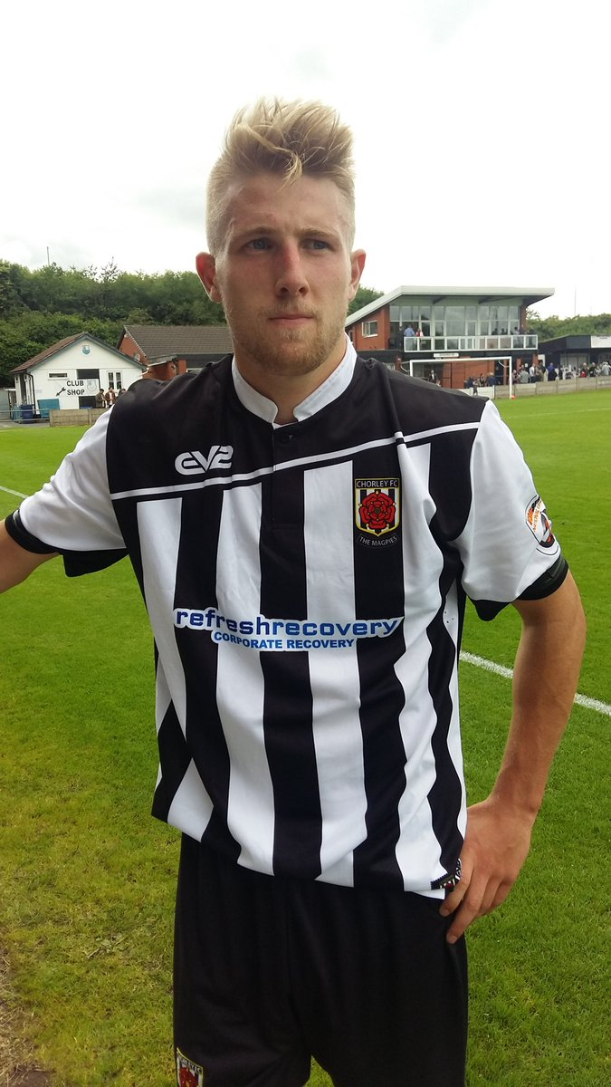 Chorley Fc On Twitter Scorer Of The Opening Goal Marcuscarver14 Sporting The New Home Shirt For The 2016 17 Season