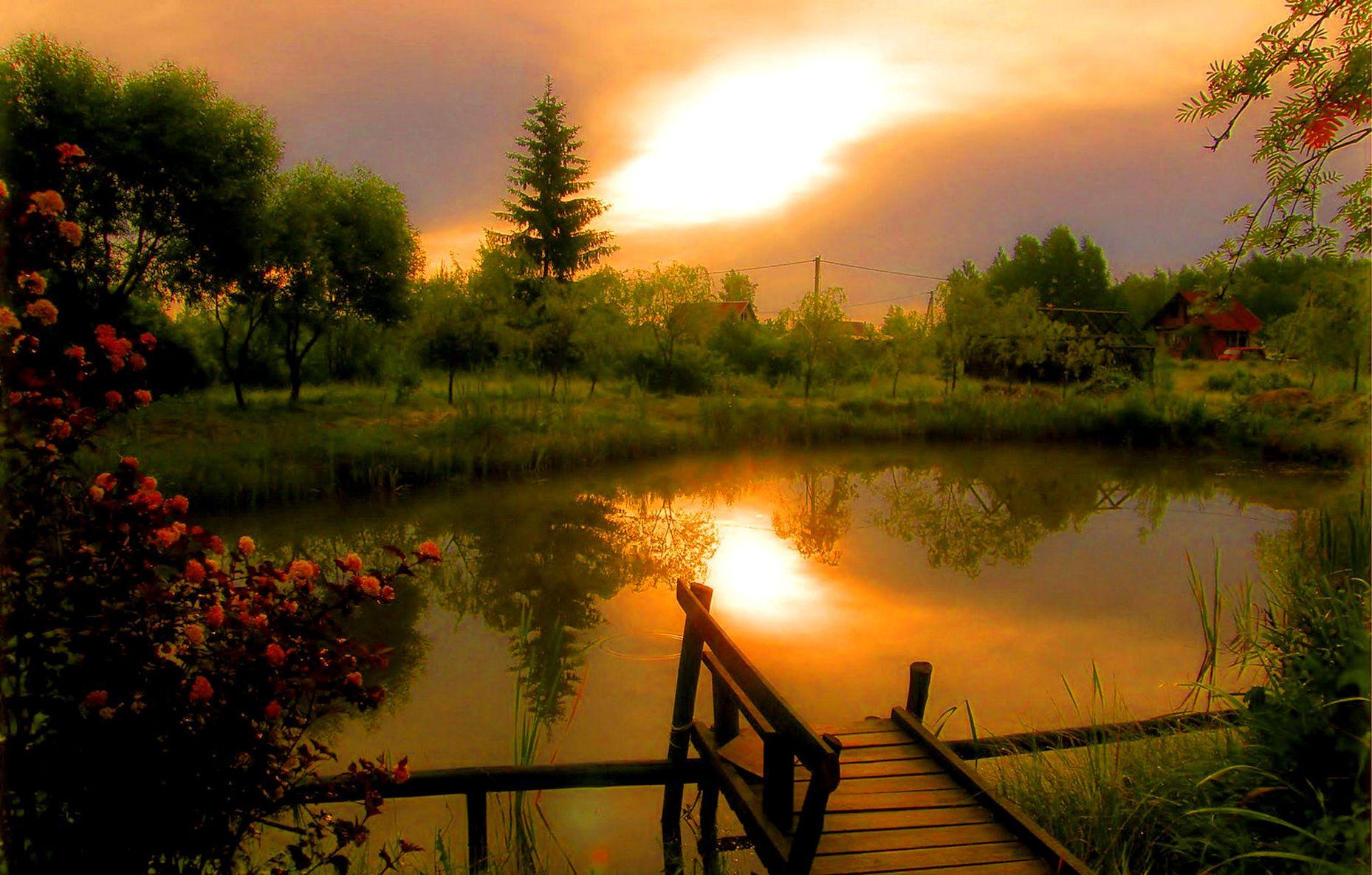Для, доброго летнего вечера красивые картинки
