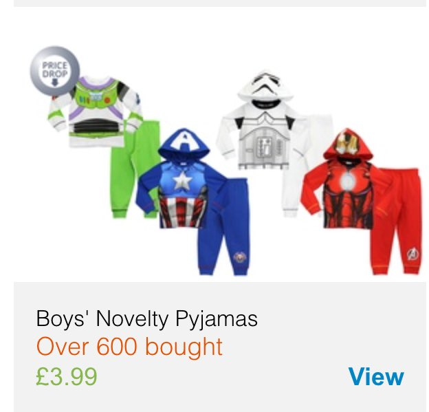 Oh @Groupon_UK how many times do you need to be told. These are pyjamas for CHILDREN. Not just boys. @letclothesbe https://t.co/XC4T0YzvVm