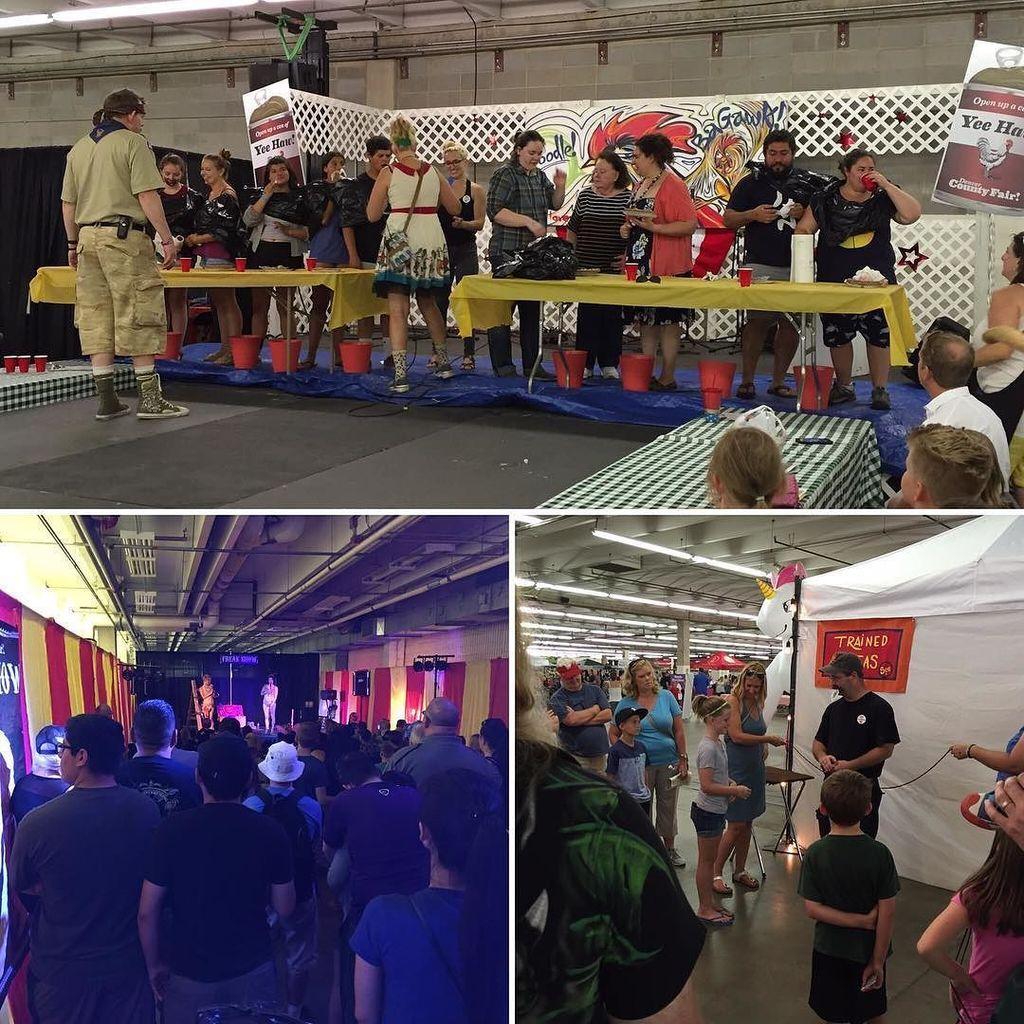 Pie eating contests, freak shows, magic tricks, and more! The Denver County Fair has enter…