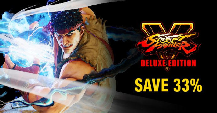 indiegala on twitter save 33 on street fighter v deluxe edition