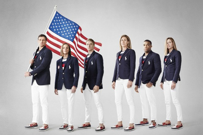 The USA Olympic uniforms are everything a bro could wish for