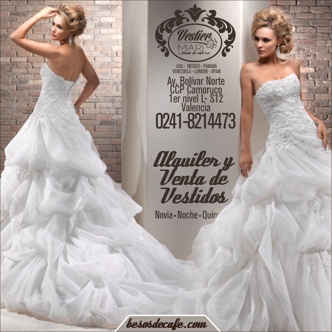 Alquiler vestidos de novia valencia venezuela