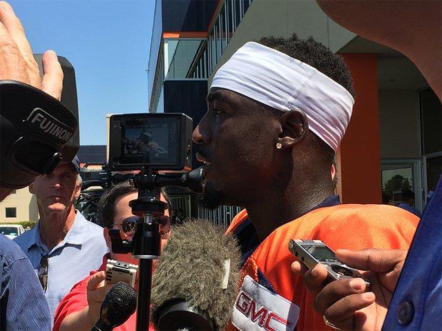 Day 3: CB Kayvon Webster impresses; Taylor, Williams should be back soon: - @TroyRenck