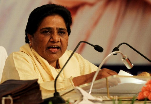 Mayawati meets Una incident victims, claims Anandiben stepped down owing to backlash