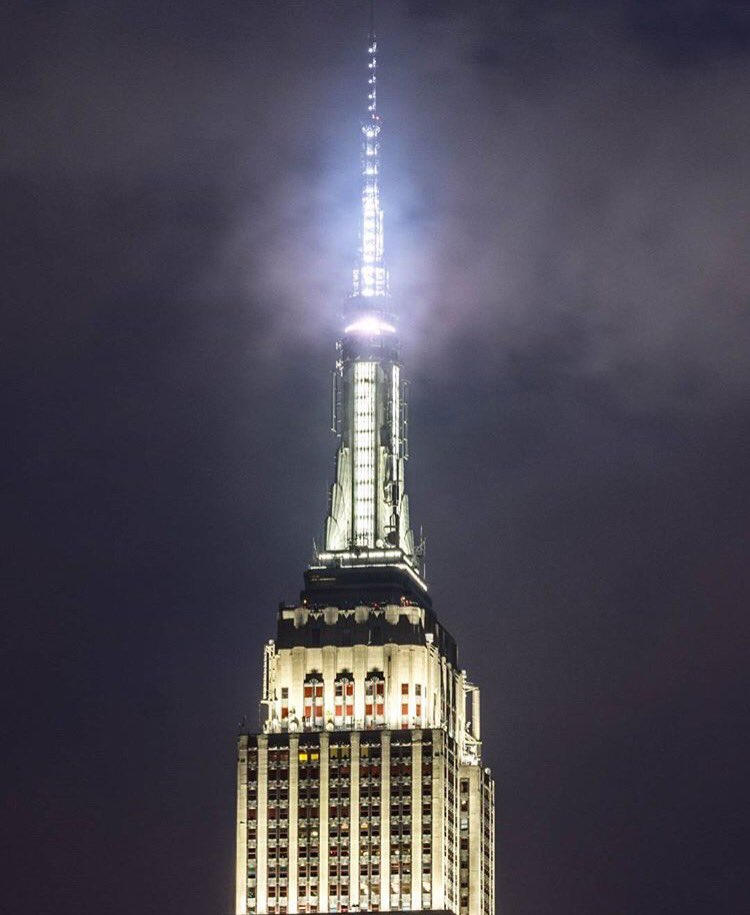 Shining bright through the fog. (: nycnikon/Instagram) abc7ny