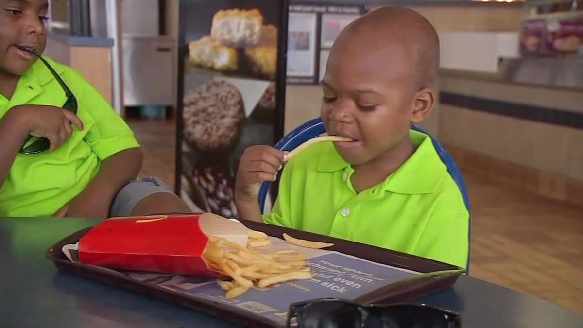 A N.C. boy w/ autism was turned away from a local restaurant, but warmly embraced by another.