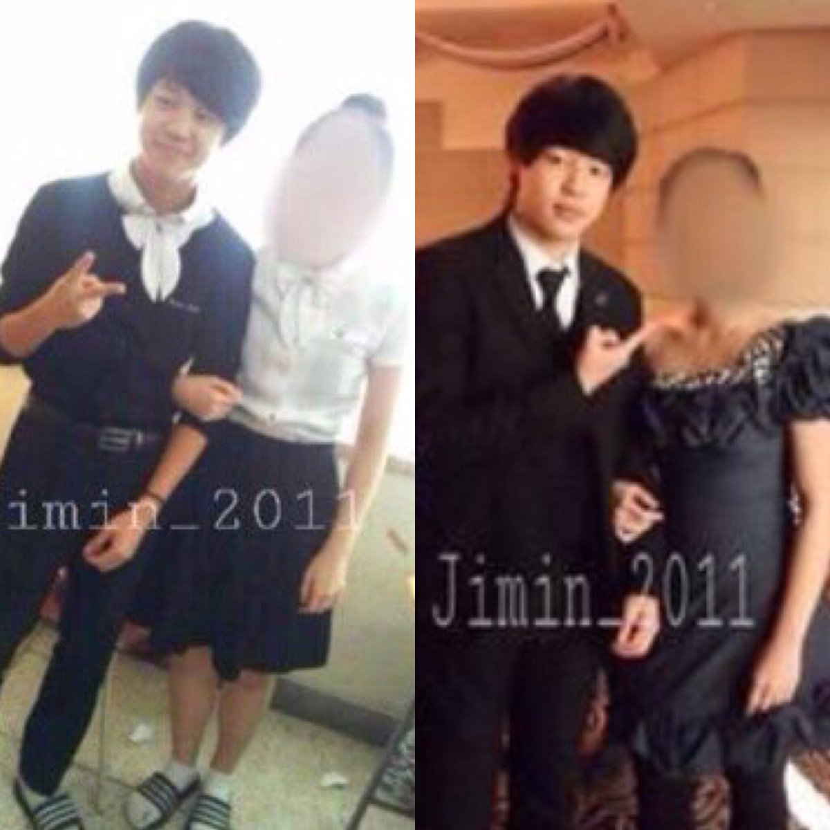 cindy misses bts on twitter jimin with his girlfriend in 2011