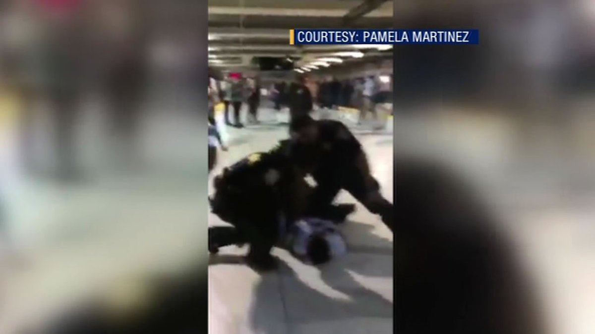 BART investigating arrest made by its officers in SF as a possible use of excessive force.