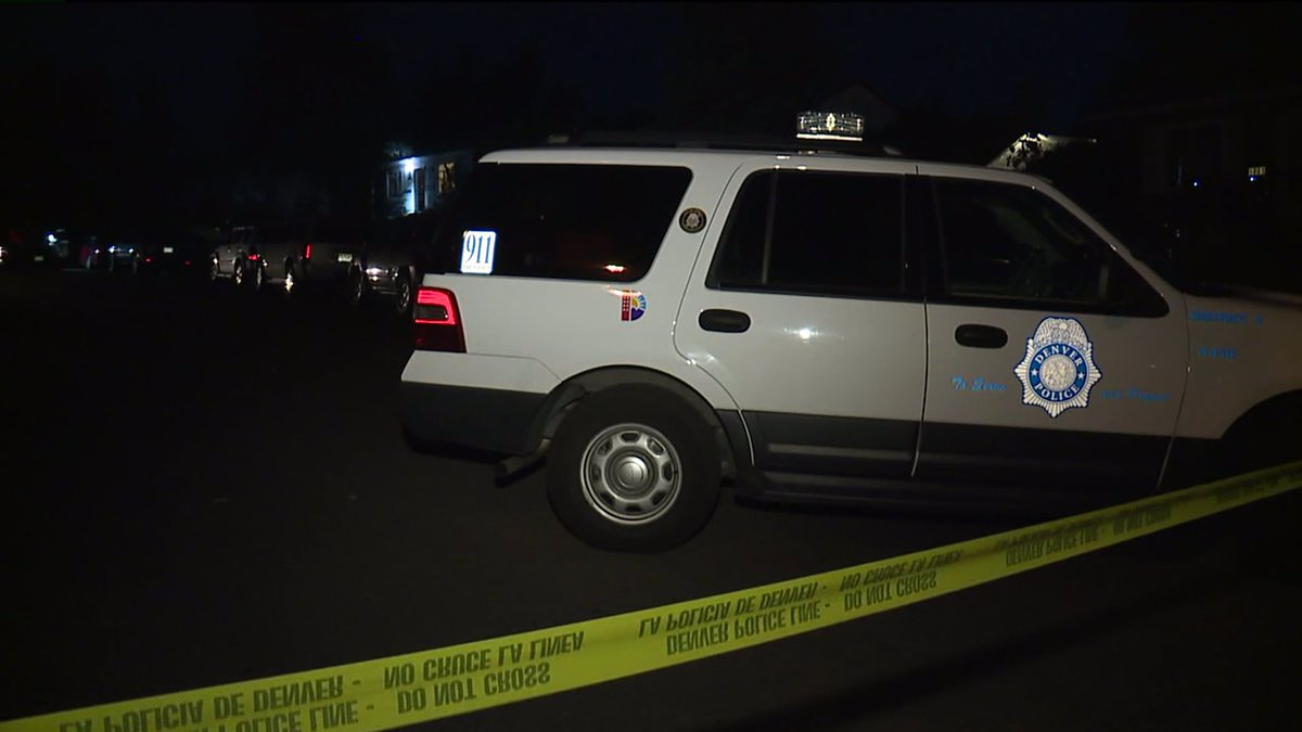 Police say are 2 dead in southwest Denver shooting