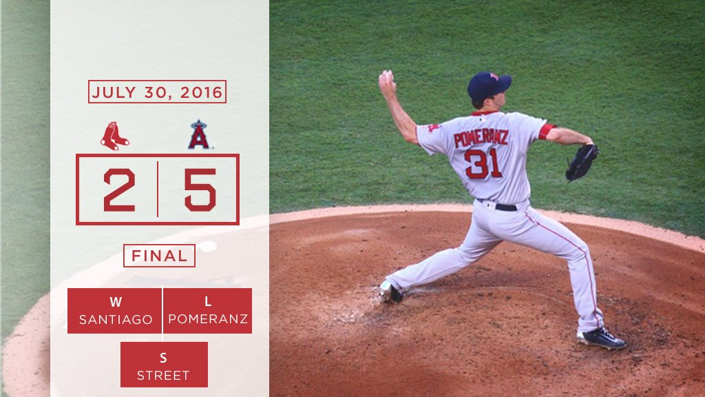 SOX LOSE TO ANGELS 5-2,   7TH LOSS IN 9 GAMES