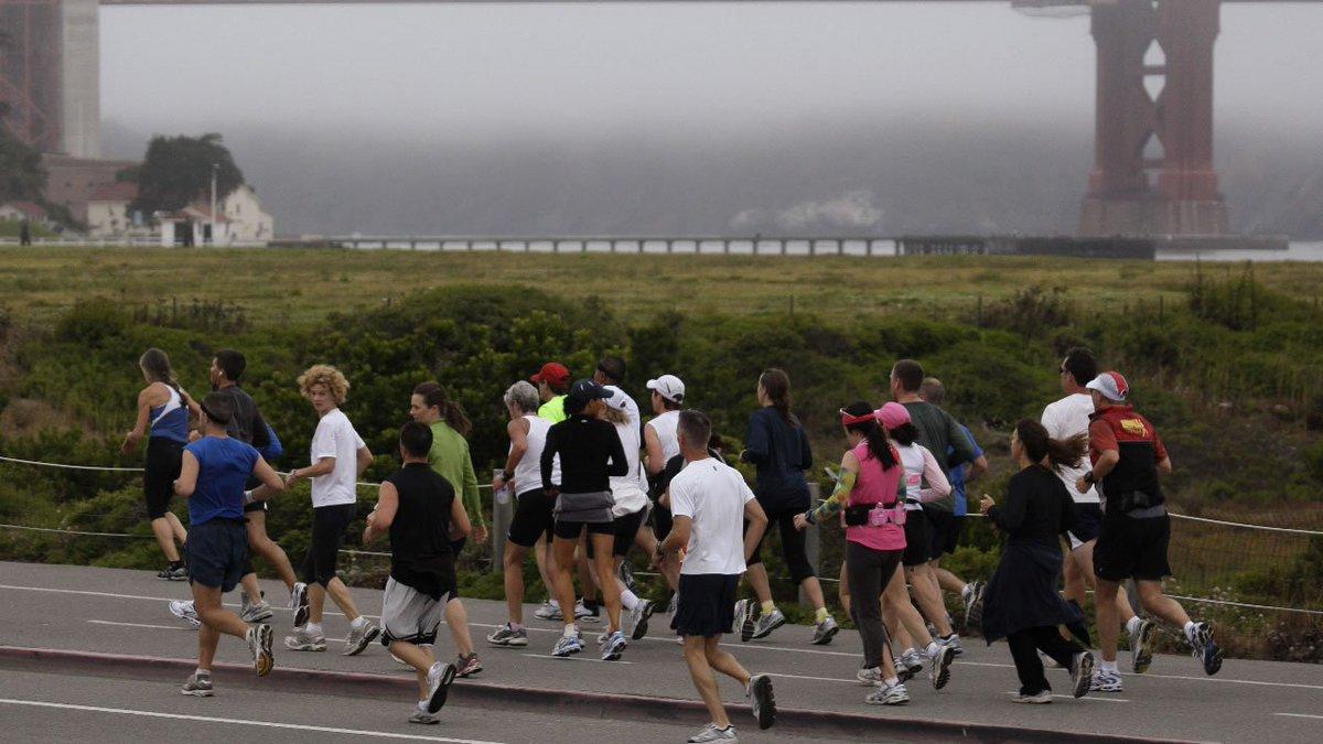 Street closures are planned for tomorrow's sfmarathon.
