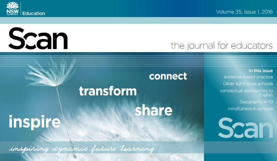 Subscribe to @ScanJournal refereed journal for K-12 teachers & teacher librarians https://t.co/zwCK1mjZfn #aussieED https://t.co/EjO0DFQHIX