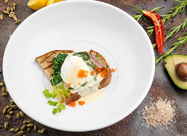 Рецепт яйцо бенедикт