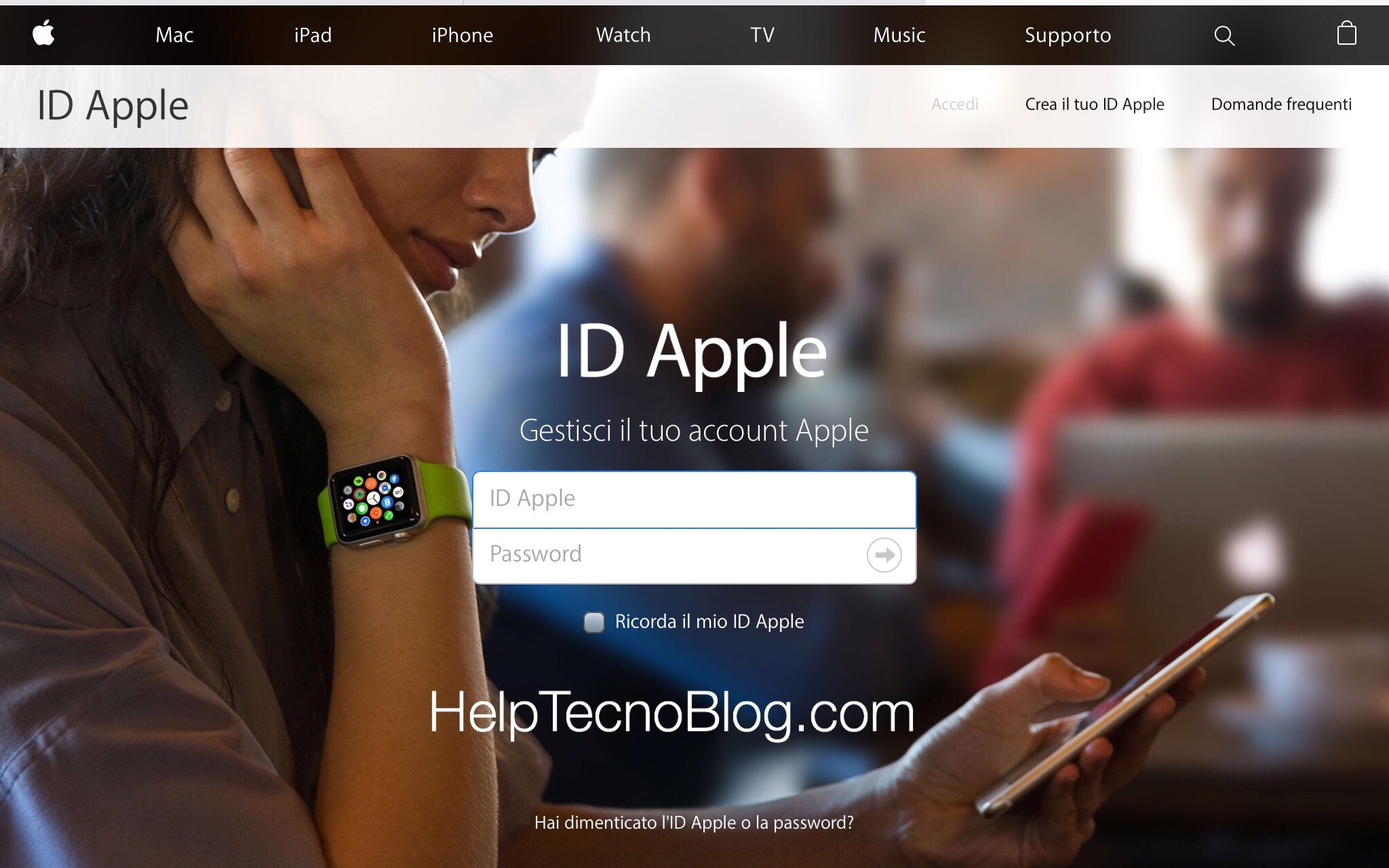 Cambiare ID Apple Mail
