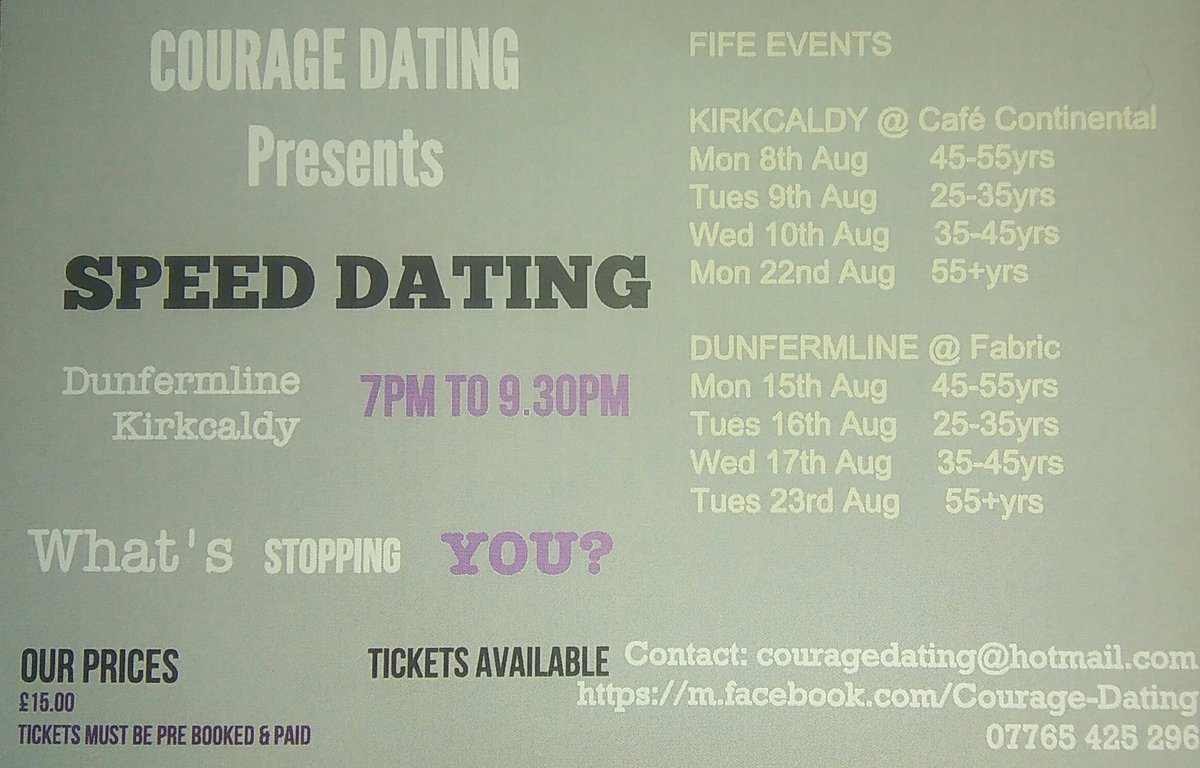 Courage dating