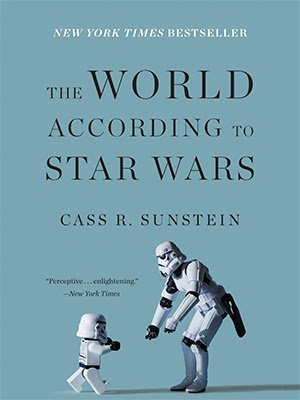 """Live at Noon: """"The World According to Star Wars"""" w/ @CassSunstein via @CatoEvents: https://t.co/1ApVU3Wh5J https://t.co/YFbMl2BENd"""