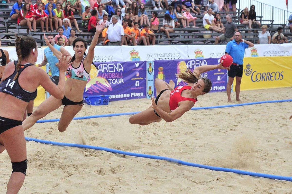 Las guerreras del @BMMalagaCosta campeonas de España de Balonmano Playa. ¡¡¡¡Felicidades!!!! https://t.co/VYNxfgGq6z