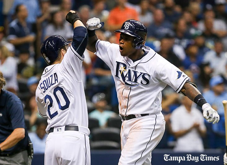 Rays' red-hot Tim Beckham rewards manager's confidence