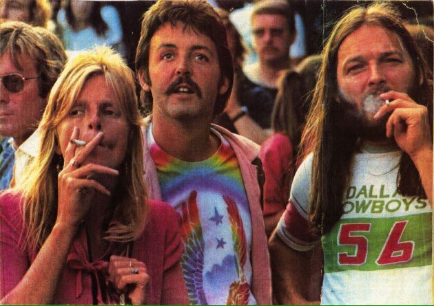 Friends Then Now Two Legends Of Our Time David Gilmour Paul McCartney PinkFloyd Beatlespictwitter YqVOYSJHYH